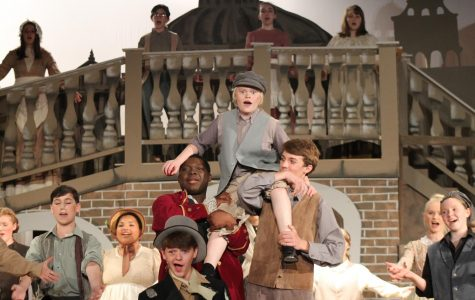 Freshman Julian Anderson was cast as Oliver during his 8th grade year.